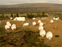 The Allen Telescope Array (credit: SETI Institute)