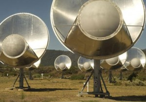 SETI's Allen Telescope Array (credit: SETI Institute)