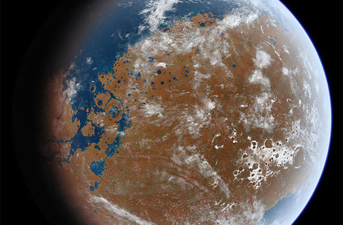 Scientist asserts that Earth life was seeded by Mars