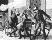 A 19th-century depiction of ball lightning (credit: Wikimedia Commons)