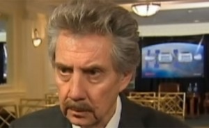 Robert Bigelow discussing lunar property rights. (Credit: CNBC)