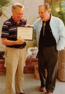 John Billingham and Barney Oliver. (Credit: SETI Institute)