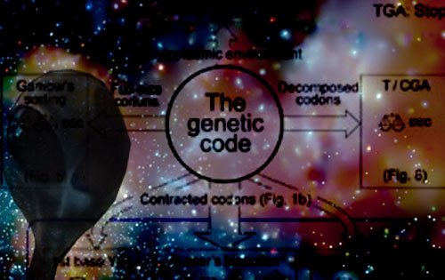 An alien code in our genes?