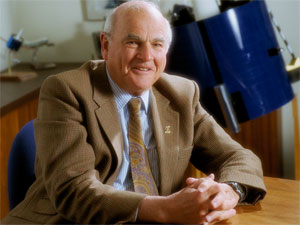Dr. Baruch Blumberg (credit: NASA)