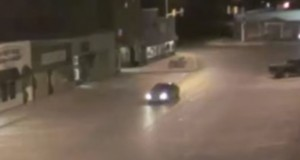 The car that was allegedly abducted by a UFO. (Credit: The Paranormal Frequency/YouTube)
