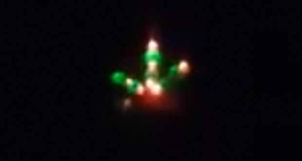 UFO over Melbourne. (Credit: Ami Hasson/Facebook)