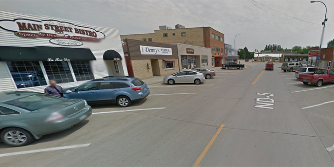 Cavalier's Main Street, the location shown in the video. (Credit: Google)