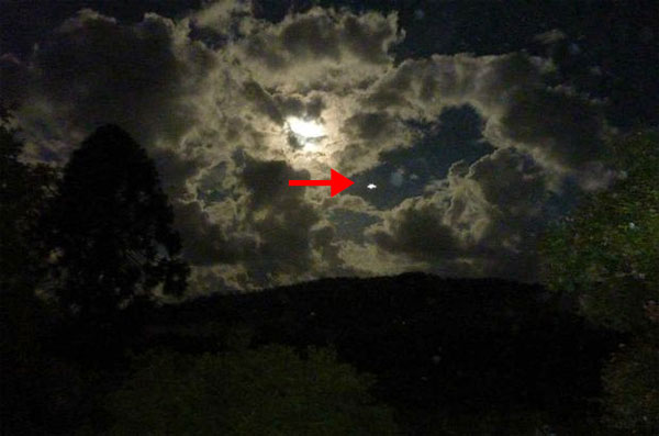 Foto de UFO sobre New South Wales intriga Fotógrafo