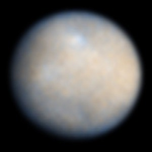 The dwarf planet Ceres. (Credit: NASA/ESA)