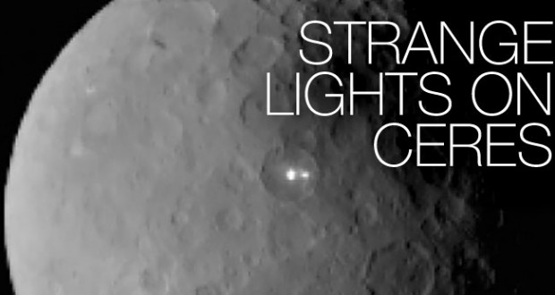 Scientists Puzzled By Strange Lights On Dwarf Planet Ceres