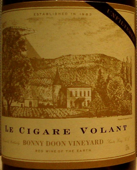 Le Cigare Volant label.