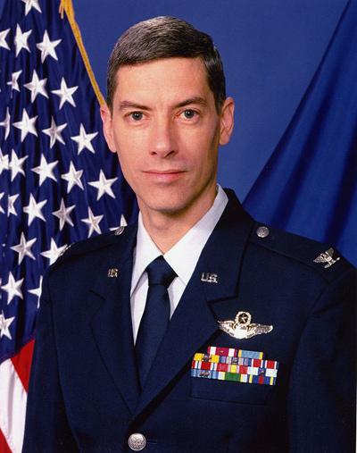 Dennis F. Sager (image credit: USAF)