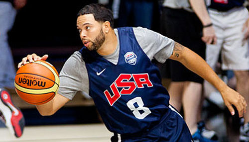 NBA player Deron Williams saw a UFO during Hurricane Sandy