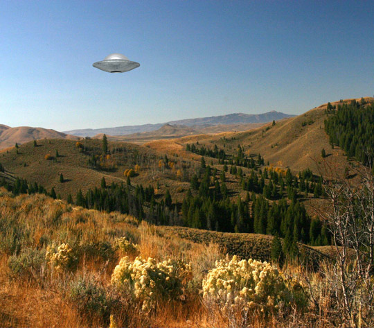 Illustration of Idaho sighting (credit: Michael Schratt).