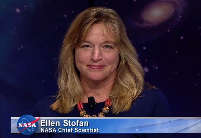 Ellen Stofan (Credit: NASA)