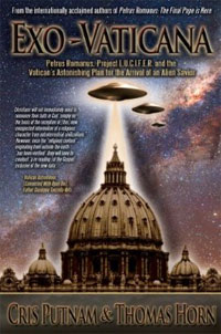 Cover of the book Exo-Vaticana. (Credit: Defender)