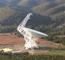 Robert C. Byrd Green Bank Telescope (credit: NRAO)