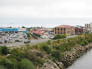 Greymouth, NZ, approximately 6 miles north of where the flying car was seen. (Credit: Kelisi/Wikimedia Commons)