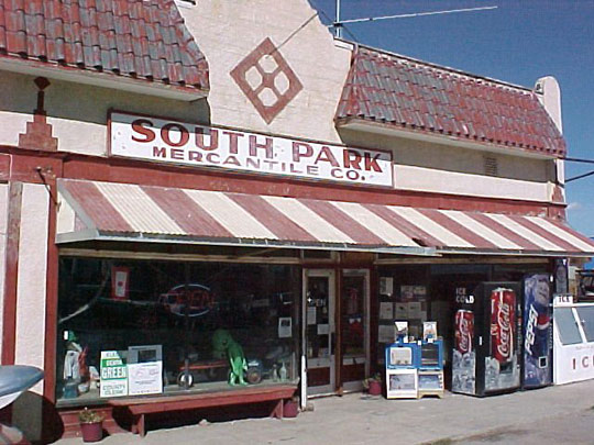 The Sout Park Mercantile shop in Hartsel, Colorado. (image credit: Steve Garufi)