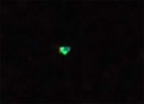 Mass UFO sighting in southern Illinois