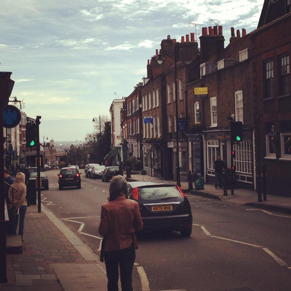 Highgate Village. An expensive suburb in North London that is home to many celebrities. (Credit: Foursquare/Ben W.)