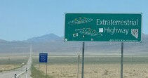 Highway 375, aka the Extraterrestrial Highway