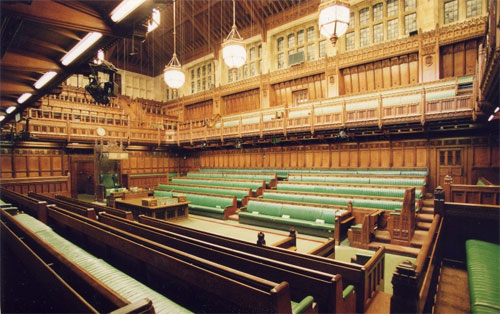House of Commons. (Credit: UK Parliament)
