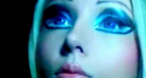 'Real-life Barbie' claims to be time-traveling alien