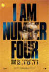 Poster for I Am Number Four (credit: DreamWorks)