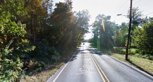 The object was approximately six feet off the ground moving through the backyard when the witness first saw it in Washington Township, Gloucester County, New Jersey. Pictured: Washington Township. (Credit: Google)