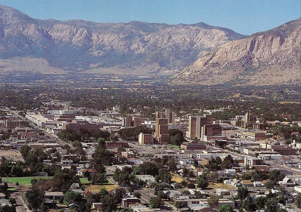 Downtown, Ogden. (Credit: Wikimedia Commons)