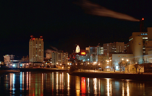 Downtown Rochester, MN. (Credit: Wikimedia Commons)