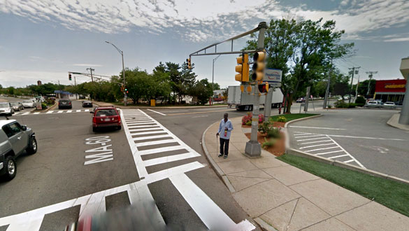 The witness stated that the object made maneuvers that no known craft could make. Pictured: Malden, MA. (Credit: Google)