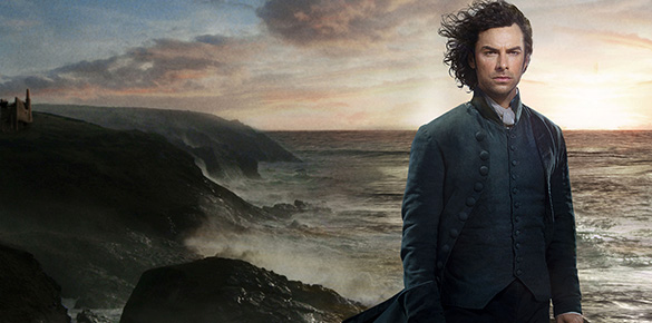 The witness referenced Aidan Turner as Ross Poldark in the Masterpiece hit series, 'Poldark.'