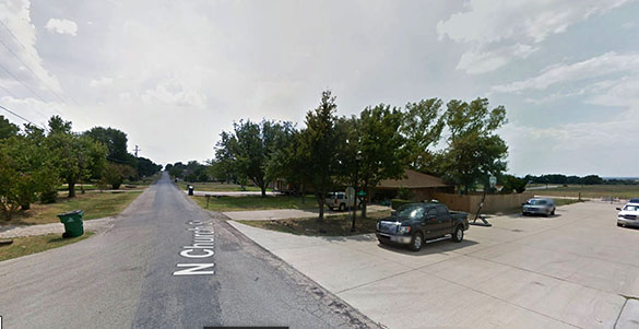 The witness first heard a humming sound that sent him outside to investigate. Pictured: Prosper, TX. (Credit: Google)