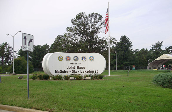 The object was seen hovering over Joint Base McGuire–Dix–Lakehurst. (Credit: Wikimedia Commons)
