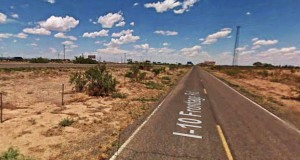 The witness first saw an object near Deming, NM, that looked like a blimp but had no wings or propellers. Pictured: Deming, NM. (Credit: Google)