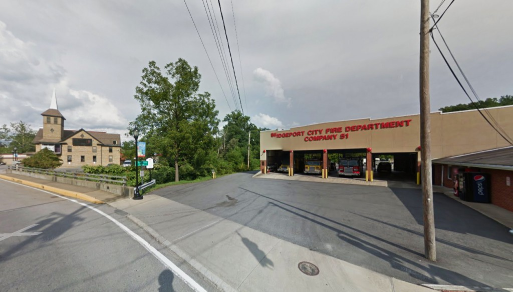 The witness said the object eventually flew away in the direction of Grafton, West Virginia. Pictured: The Bridgeport Fire Department. (Credit: Google)