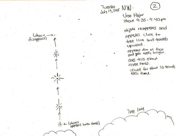 Witness illustration #2. (Credit: MUFON)