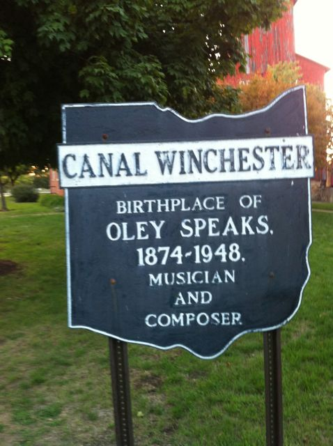 The witness stated that about 40 similar-looking, but smaller craft, also appeared and were sucked inside the larger craft. Pictured: Canal Winchester, OH. (Credit: Wikimedia Commons)