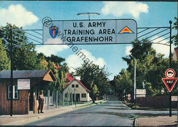 Historical image of U.S. Army Training Area Grafenwöh. (Wikimedia Commons)