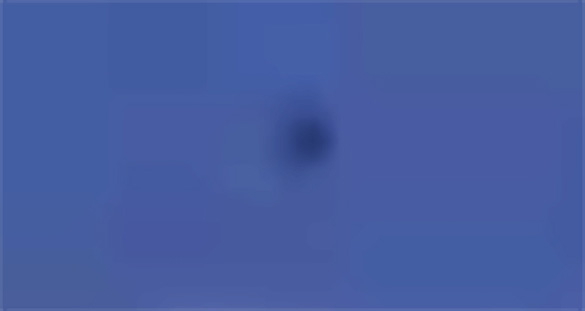 Pictured: Cropped, enlarged and enhanced still frame from the witness video. (Credit: MUFON)