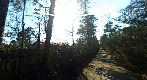 The witness and his friend drove under the object at one point. Pictured: Lufkin, TX, pictured. (Credit: Google)