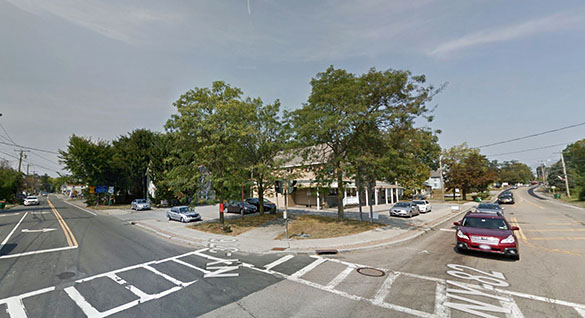 The witness reported missing time as part of the incident. Pictured: Hopewell Junction, NY. (Credit: Google.)