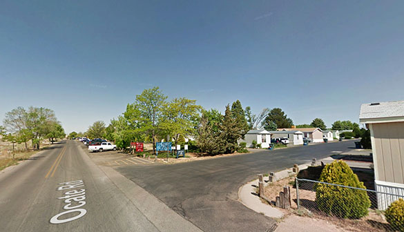 The witness described ports around the object that were round. Pictured: Santa Fe, NM. (Credit: Google)