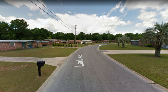 The witness believes there were other witnesses. Pictured: Milton, Florida. (Credit: Google)