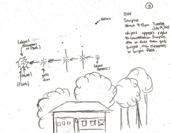 Witness illustration #3. (Credit: MUFON)