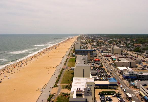 Virginia Beach, Virginia. (Credit: Wikimedia Commons)