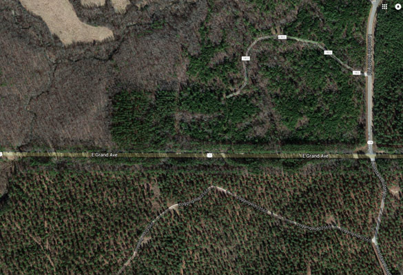 Overview of area where the witness was driving westbound along Highway 70 near Lonsdale. (Credit: Google)