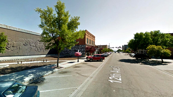 Downtown, Nampa, Idaho. (Credit: Google)